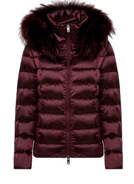 Piumino Canadiens donna KEIRA FUR/W burgundy