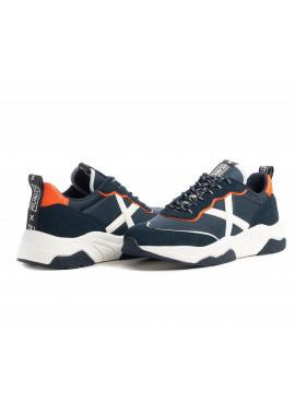 Sneaker Munich uomo Wave 47 navy Pe