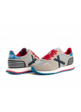 Sneaker Munich uomo Massana 419 grey Pe