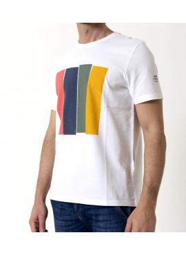 T-Shirt uomo ecoalf mahalf white