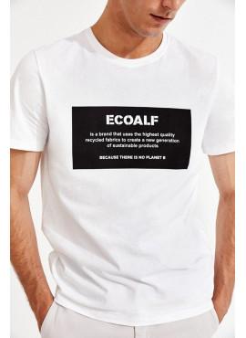 T-Shirt uomo ecoalf natalalf bio white pe