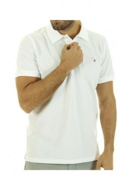 Polo Gant 2101 002201 rugger piquè white