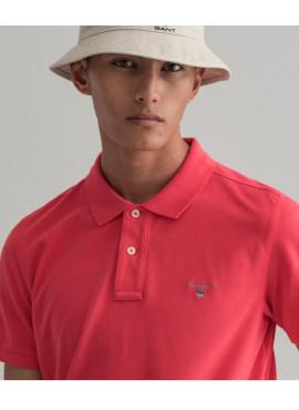 Polo Gant uomo 002201 pique ss paradise pink