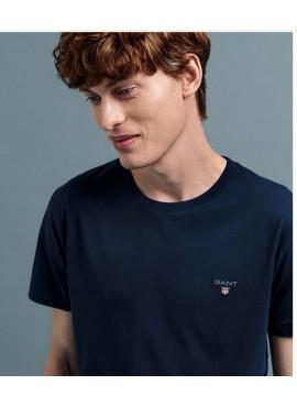 T-Shirt Gant Original ss 2101 234100 blu notte Pe21
