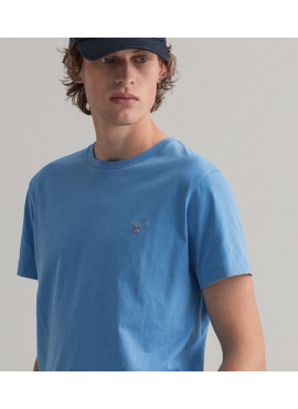 T-Shirt Gant Original ss 2101 234100 pacific blue Pe21