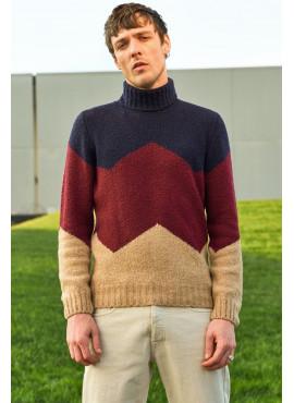 dolcevita 3 fili gran sasso lana e cashmere