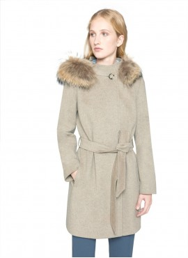 Cappotto Icons cacha in puro cashmere