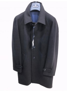 Cappotto Barbati uomo deven 219672 dark blu lana