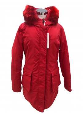 Parka Nova Cecilia Gomez donna artic april  RED